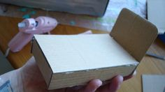 "Dollhouse bed (mini tutorial) | Making a bed for my ""ShoeBox… 