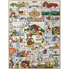"""Oh Holy Night Counted Cross Stitch Kit-16""""X21"""" 14 Count"""