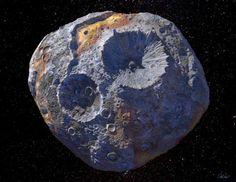 NASA To Explore Asteroid With $10,000 Quadrillion Worth Of Metal