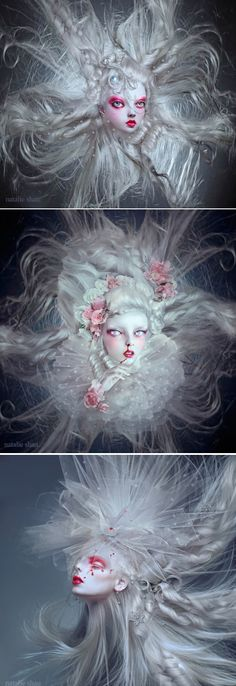 Natalie Shau~Ghostly Winds(top)                       Rose Bleed(middle)