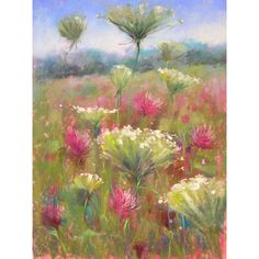 Painting my World: wildflowers ❤ liked on Polyvore