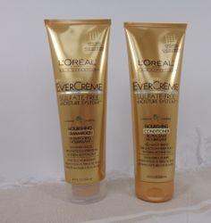 L'Oreal Paris EverCreme Sulfate Free Shampoo Conditioner Review via @MyHighestSelfBlog.com