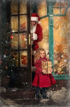 Twas The Night Before Christmas Christmas Minis, Christmas Scenes, Christmas Villages, Christmas Mood, Christmas Baby, Christmas Pictures, Vintage Christmas, Christmas Cards, Merry Christmas