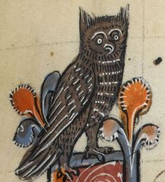 "Detail from ""The Rutland Psalter"", medieval (c1260), British Library Add MS 62925. f 94r"