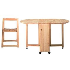 Butterfly Folding Dining Table and Chairs, Butterfly Folding Table and Four Chairs