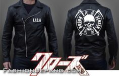 Jaket Crows Zero - TFOA The Front Armament A3 *Material : synthetic leather best quality