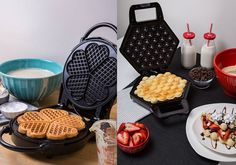 Win It! A CucinaPro Heart Waffler and Bubble Waffle Maker https://shar.es/1RgS16 via @extratv