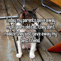 21 Heartbroken Kids Whose Parents Re-homed Their Pet