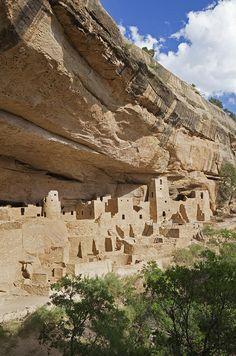 Native American Cliff Dwellings - Mesa Verde, Colorado