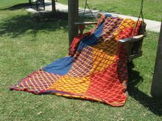 Sunset Wave Wedding Afghan - CROCHET - Sewing, knitting, crochet, needlework, paper crafts, jewelry, tutorials, swaps and SO much more on Craftster.org