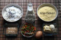 Αλμυρά μπισκότα με γέμιση τυριών και μπέικον ⋆ Cook Eat Up! Eat, Food, Meals, Yemek, Eten