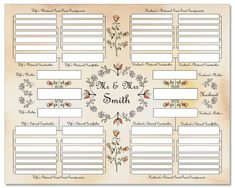 free family tree charts you can download now kiddos pinterest