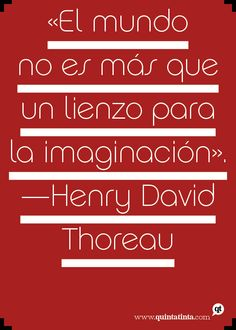 Una cita de Henry David Thoreau