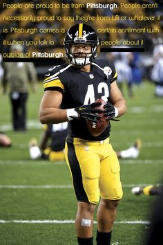 Finally Home: How Pittsburgh Won Over Troy Polamalu #Pittsburgh #Steelers #NFL #Polamalu #Quote