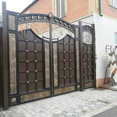 159 best front gate design images front doors entry doors windows rh pinterest com