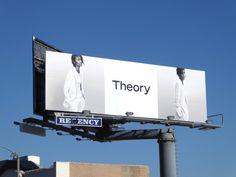 Theory Spring 2017 fashion billboard