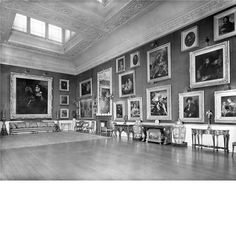 Picture Gallery,Panshanger House, Hertfordshire, Destroyed 1953