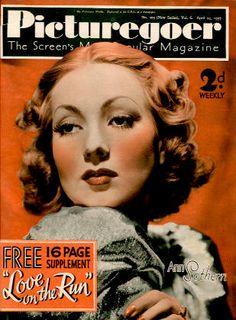 Picturegoer Magazine with Ann Sothern 1937