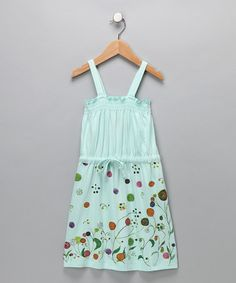 Take a look at this Soothing Sea Organic Dress - Girls by Dhana EcoKids on #zulily today!