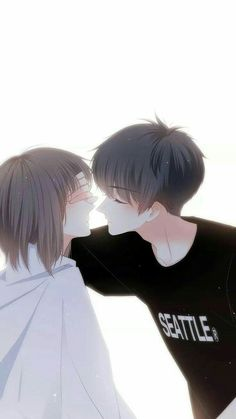 Couple Anime Manga, Anime Cupples, Romantic Anime Couples, Anime Love Couple, Anime Couples Drawings, Anime Couples Manga, Anime Kawaii, Anime Chibi, Cute Couples