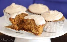 Gingersnap Cupcakes with Vanilla Bean Cinnamon Buttercream Recipe on Yummly. @yummly #recipe