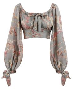 Shop for Unbridled Maiden Blouse by Zimmermann at ShopStyle. Look Fashion, Womens Fashion, Fashion Design, Fashion Trends, Stylish Blouse Design, Mode Inspiration, Aesthetic Clothes, Blouse Designs, Ideias Fashion