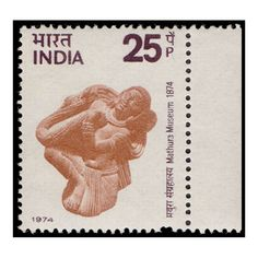 Buy Centenary of Mathura Museum Stamp Online Sell Coins, Commemorative Stamps, Buy Stamps, Garland, Period, Sculptures, Museum, Hands, Indian
