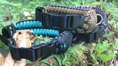 Einstellbare Paracord-Hundehalsband von FlipsTactical550Gear