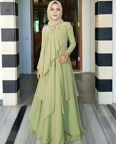 New Dress Pattern Prom Skirts 54 Ideas Modest Fashion Hijab, Modern Hijab Fashion, Muslim Women Fashion, Modesty Fashion, Abaya Fashion, Fashion Dresses, Hijab Dress Party, Party Wear Lehenga, Hijab Outfit