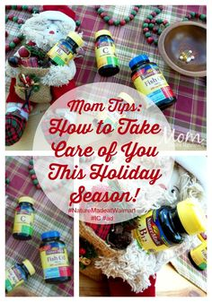 Mom Tips: How to Take Care of You This Holiday Season! #NatureMadeatWalmart #IC #ad  Sponsored Pin: Dear Mom, between all of the holiday fun, are you taking care of you?