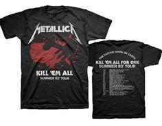 metallica shirts kill - Google Search