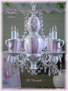 tea cup and chanaliers photos   Teacups… Tea Lights… Ted Lights… Teacup Lights – Tea isn't ...