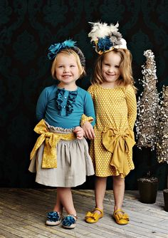 Persnickety Clothing - Lucille Dress in Gold Dot Fall 2012 Little Girl Outfits, Little Girl Fashion, Toddler Fashion, Kids Outfits, Kids Fashion, Cute Outfits, Persnickety Clothing, Family Photo Outfits, Little Fashionista