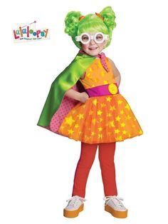 Deluxe Lalaloopsy Dyna Might Toddler Costume