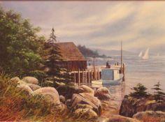 Morning Light at Aspotogan Peninsula, Nova Scotia, Garth Vaughan