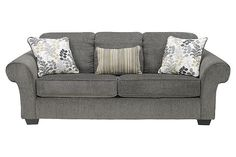 Charcoal Makonnen queen sofa sleeper @ Ashley Furniture