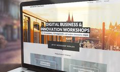 www.berlin-sdb.de - strona internetowa promująca Berlin School of Digital Business // website promoting Berlin School of Digital Business