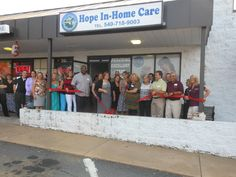 Hope In Home Care Ribbon Cutting!