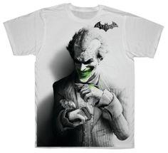 joker  tshirt / ECO PRINT TSHIRT/  tshirt / by ANISHARsport, $22.00