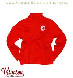 Alpha Sigma Alpha red unisex quarter zip!! A must have products for any Alpha Sigma Alpha during these cold winter months! Classic and Cute! Great holiday gift idea!