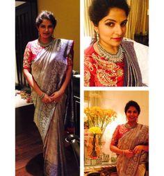 Designer saree Sexy Blouse, Work Blouse, Saree Blouse, Half Saree Designs, Blouse Designs, Fancy Sarees, Blouse Patterns, Indian Sarees, Designer Wear
