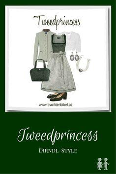 Dirndl-Style Tweedprincess