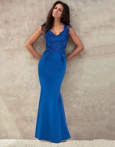 Lipsy Love Michelle Keegan Applique Maxi Dress