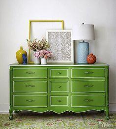 Móvel lindo...e verde