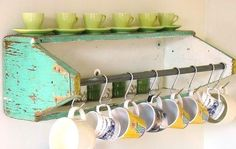 Look what a neat idea from an old carpenter's box.  Love this....