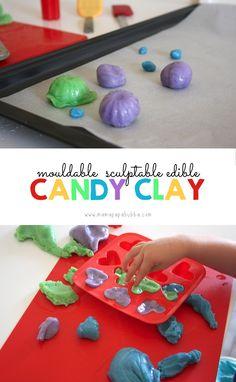 Mouldable Sculptable Edible Candy Clay | Mama Papa Bubba