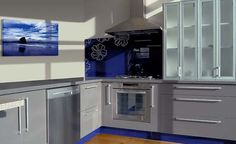 projekty kuchni, kuchnie, nowoczesne kuchnie