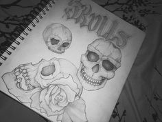 without reference three tries to a skull and the first is the tiny left, second is the dark eyed right one and best but not least is the bottom! Also practiced some tattoo font at the top! 🙌🏻 Comment which one is your favourite! Skull Tattoos, Body Art Tattoos, New Tattoos, Tattoo Drawings, Skull Drawings, Big Tattoo, Tattoo Ink, Angel Tattoo Men, Lower Back Tattoos