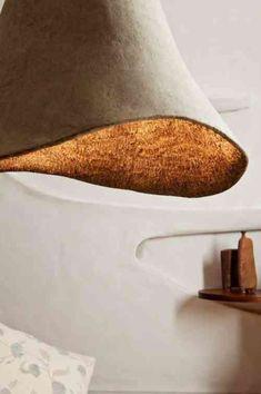 lampe pendante design en papier