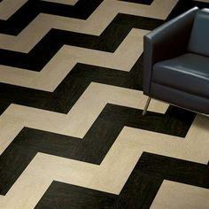 chevron floor-love this!